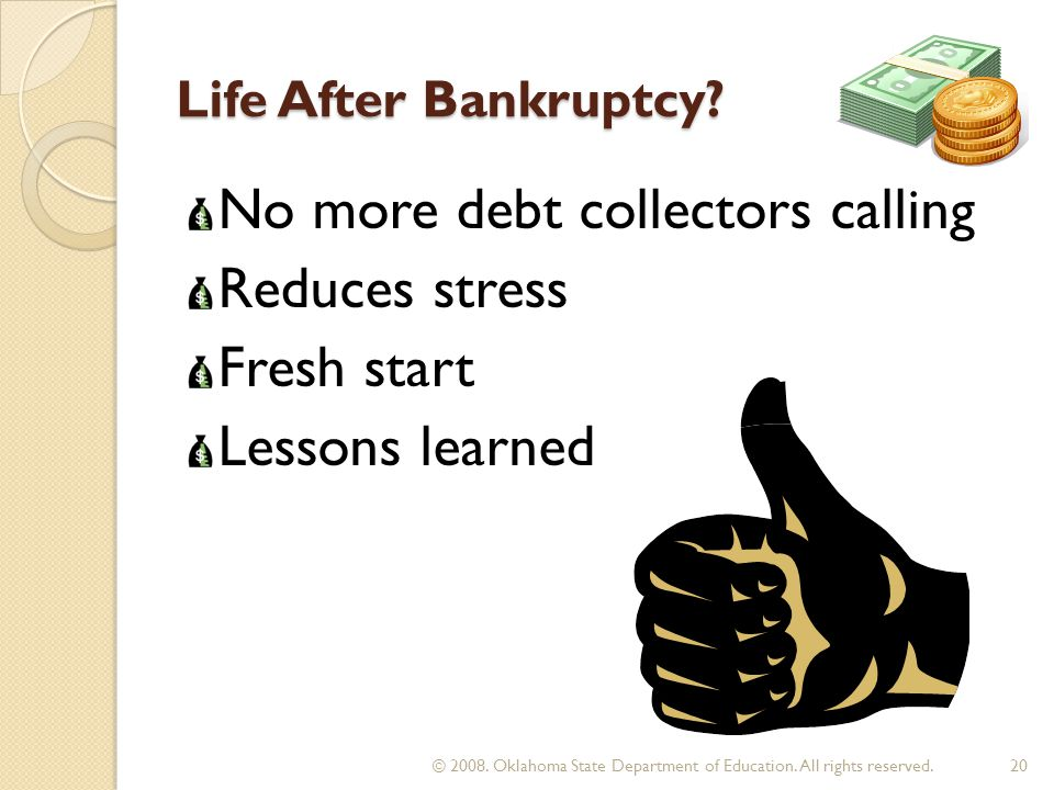 Life After Bankruptcy.