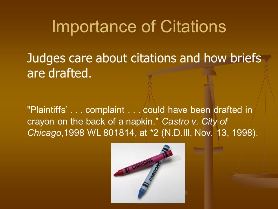 Using Id. If the same citation immediately follows the previous cite (consecutive citations), use Id. If the same citation immediately follows the previous cite (consecutive citations) but on a different page, use Id.