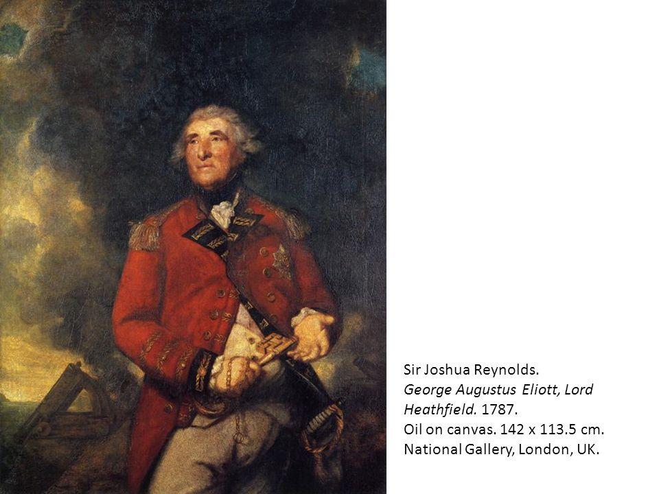 Sir Joshua Reynolds. George Augustus Eliott, Lord Heathfield. 1787. Oil on canvas. 142 x 113.5 cm. National Gallery, London, UK.