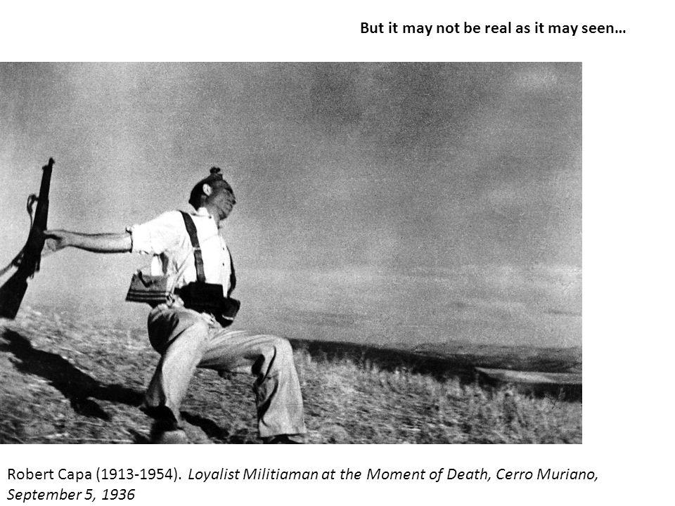 Robert Capa (1913-1954).