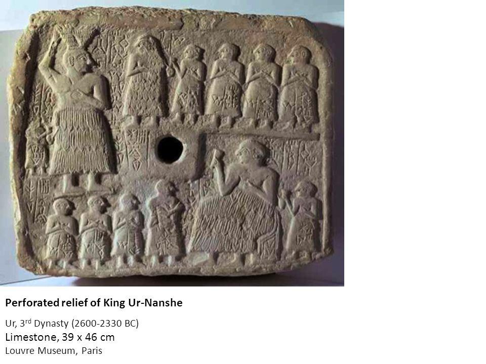 Victory Stele of Naram-Sin 2,254-2,218 BC Limestone h. 2 mt. Louvre Museum, Paris