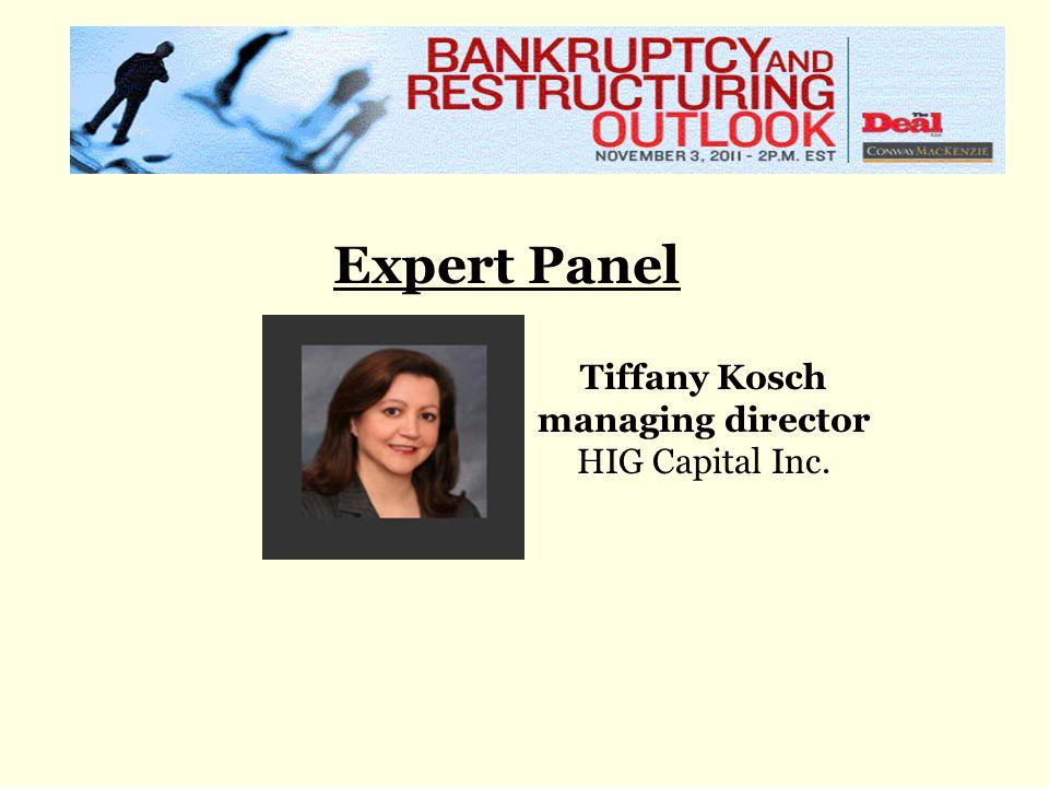 Expert Panel Tiffany Kosch managing director HIG Capital Inc.