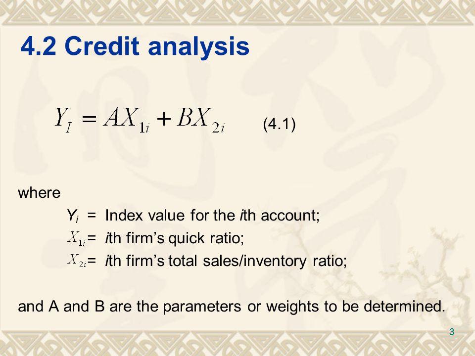 4.2Credit analysis (4.2) (4.3) (4.4a) 4