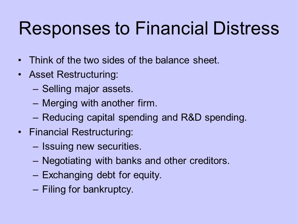Bankruptcy Liquidation and Reorganization Malaysia's Bankruptcy Act 1967 is based on the English Bankruptcy Act of 1914.