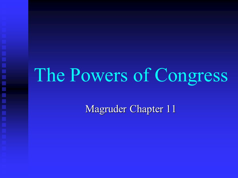 Bankruptcy Congress has the power to establish uniform bankruptcy laws Congress has the power to establish uniform bankruptcy laws The power to regulate bankruptcy is concurrent The power to regulate bankruptcy is concurrent Chapter 7 – individuals – can exempt certain property from sale Chapter 7 – individuals – can exempt certain property from sale Chapter 9 – financially distressed governmental entities – Orange County Chapter 9 – financially distressed governmental entities – Orange County