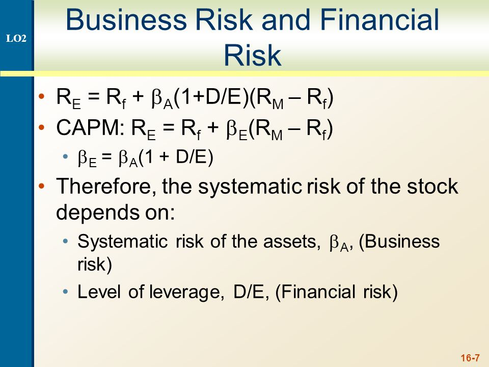 16-8 Case II – With Corporate Taxes 16.4 Interest is tax deductible Therefore, when a firm adds debt, it reduces taxes, all else equal The reduction in taxes increases the cash flow of the firm How should an increase in cash flows affect the value of the firm.