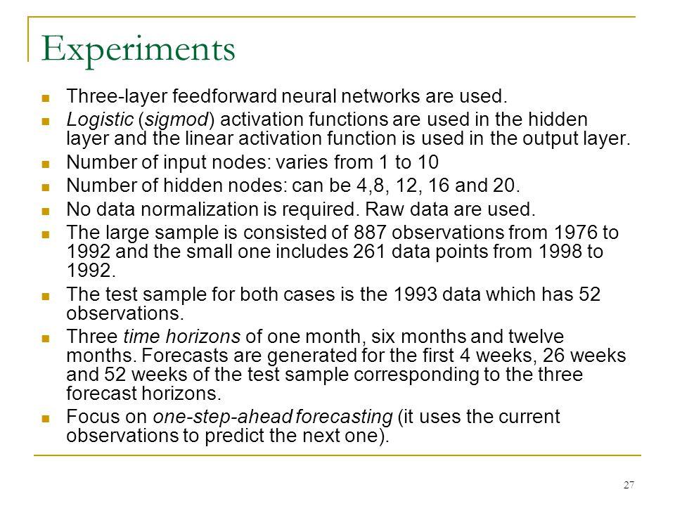 28 Neural network training NN training is a nonlinear optimization.