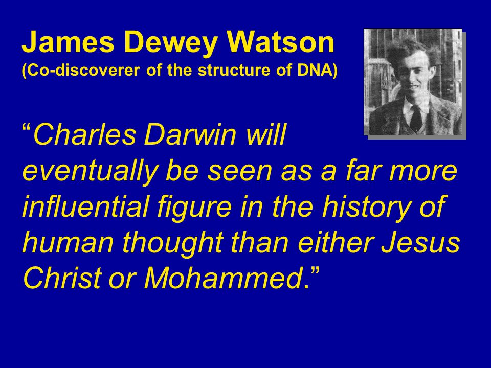Darwinism provided scientific justification for: Racism Eugenics