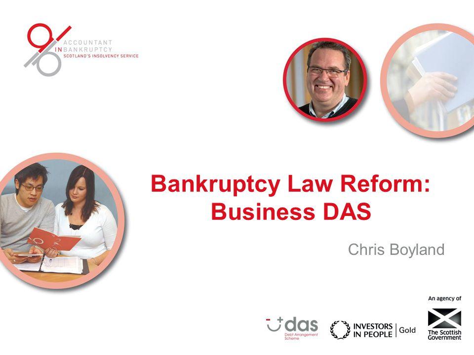Bankruptcy Law Reform: Business DAS Chris Boyland
