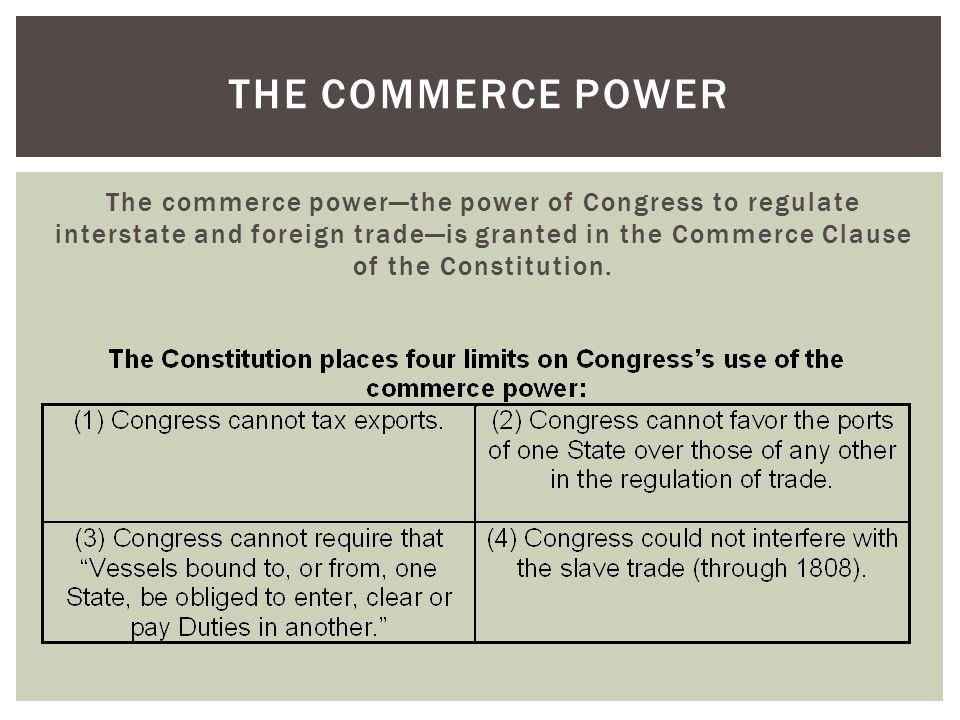 THE CURRENCY AND BANKRUPTCY POWERS The Currency Power  Article I, Section 8, Clause 5 gives Congress the power [t]o coin Money [and] regulate the value thereof.  Legal tender is any kind of money that a creditor must by law accept in payment for debts.