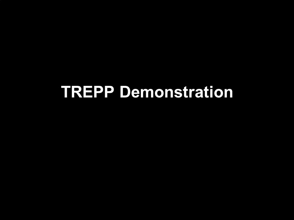 TREPP Demonstration