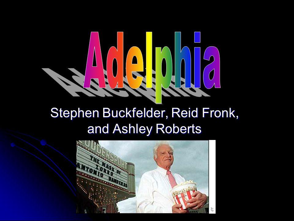 Stephen Buckfelder, Reid Fronk, and Ashley Roberts