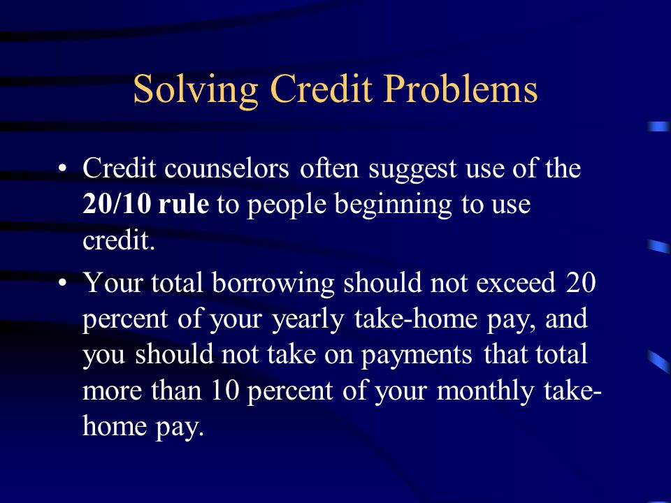 Credit Counseling Debt Adjustment Credit Repair Legal Recourse –A debtor is a person who owes money to others.