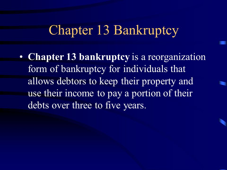 Goals for Chapter 19.2 Discuss the major causes of bankruptcy.