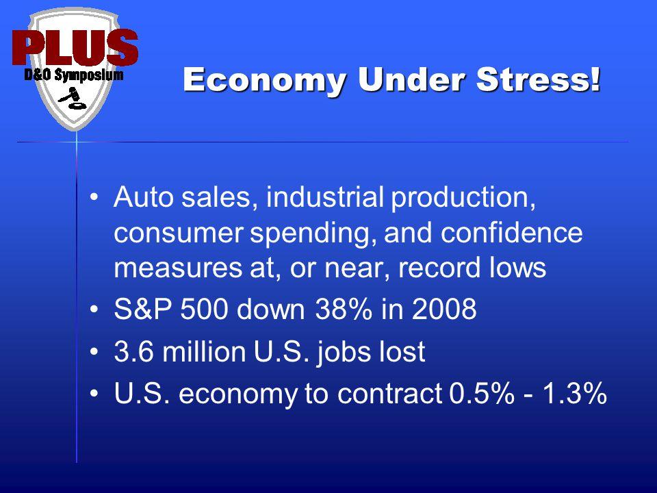 Economy Under Stress.