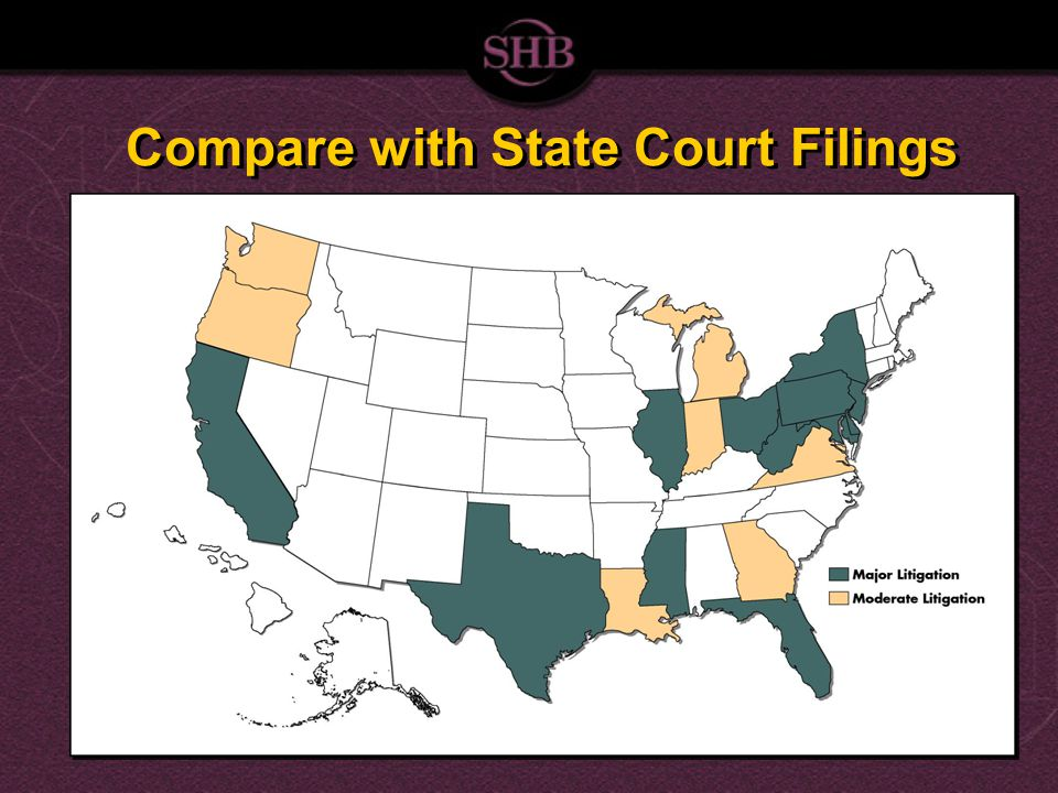 Compare with State Court Filings