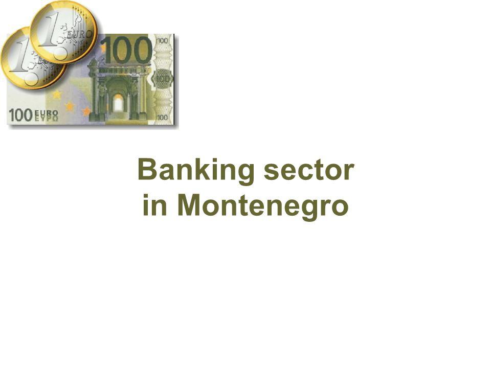 Banking sector in Montenegro