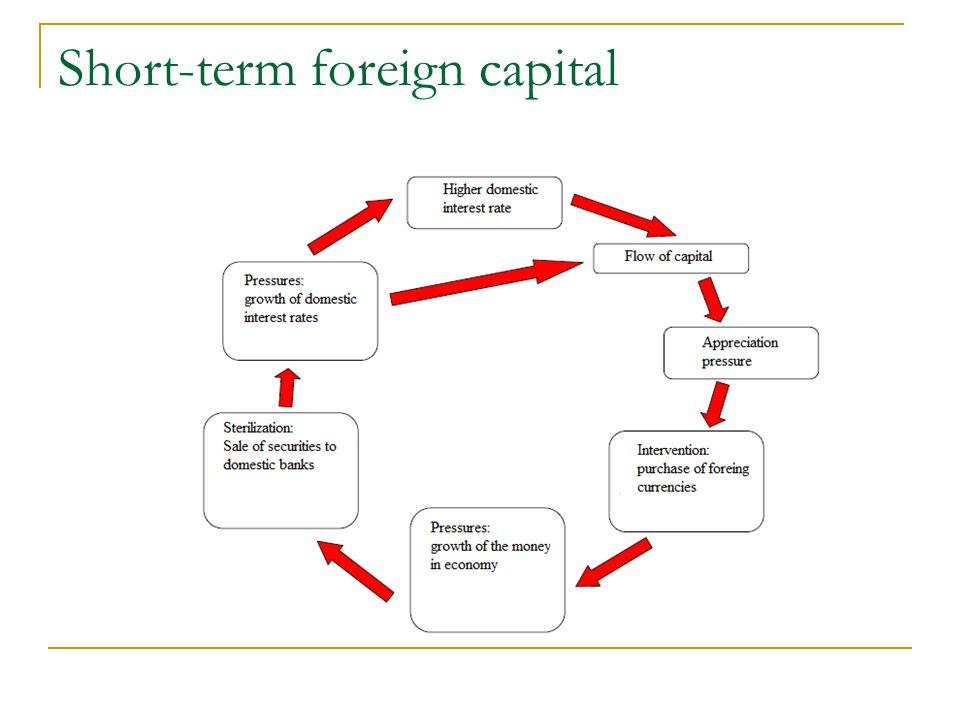 Short-term foreign capital