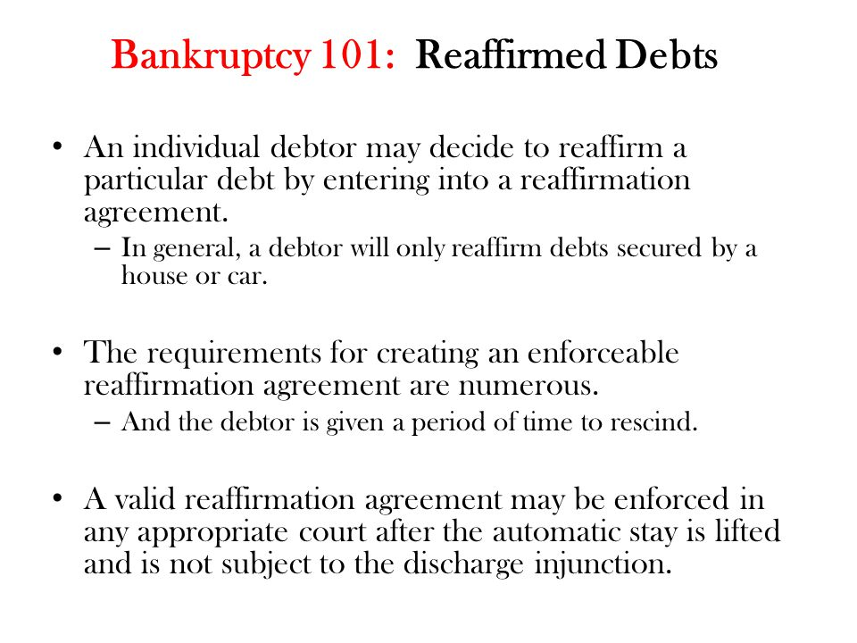 Bankruptcy 101: Parties  Debtor: Individual or organization that has filed a petition for relief under the Bankruptcy Code.