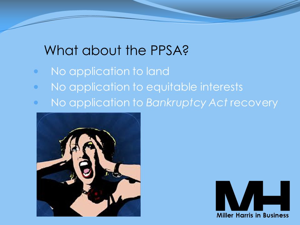 What about the PPSA.