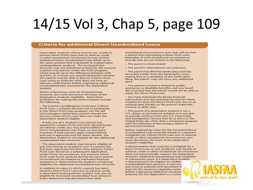 14/15 Vol 3, Chap 5, page 109