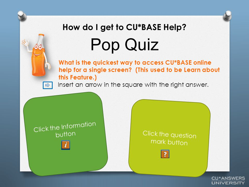 What is the quickest way to access CU*BASE online help for a single screen.
