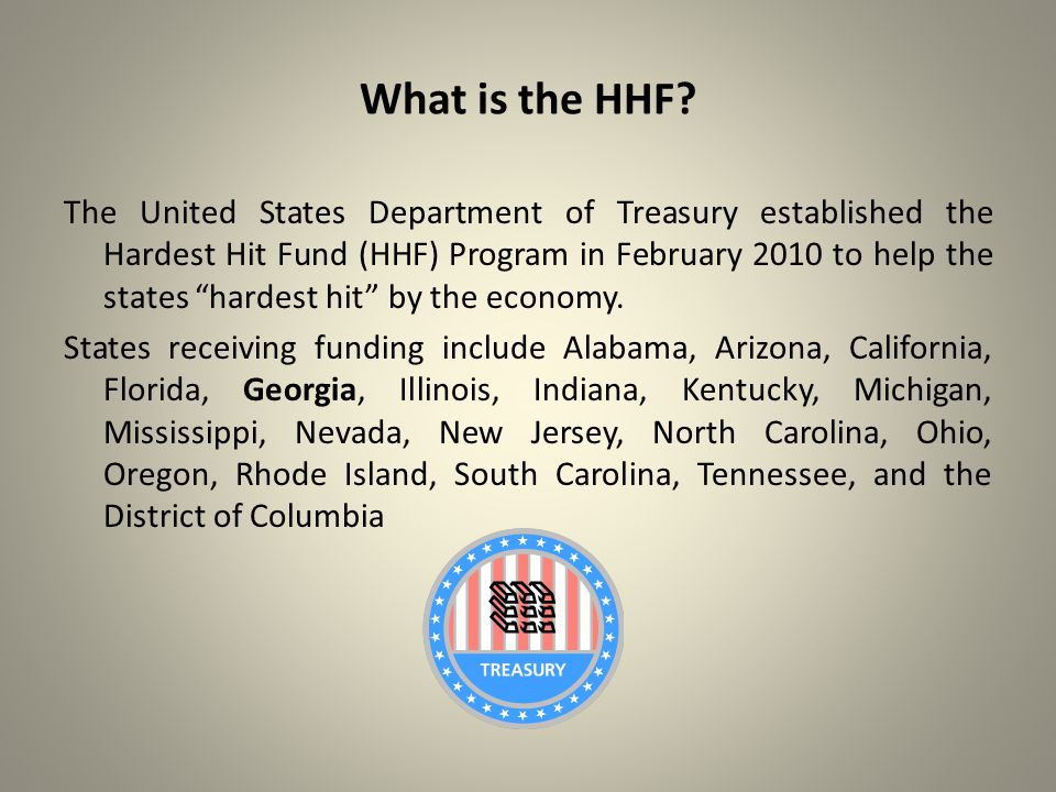 What is the HHF.