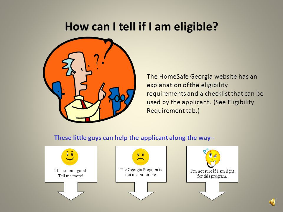 How can I tell if I am eligible.
