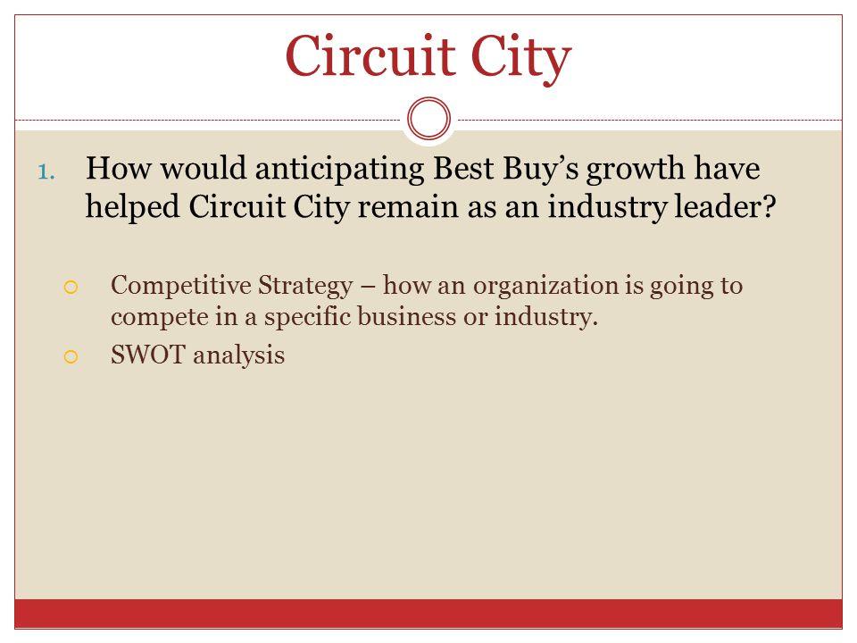 Circuit City 1.