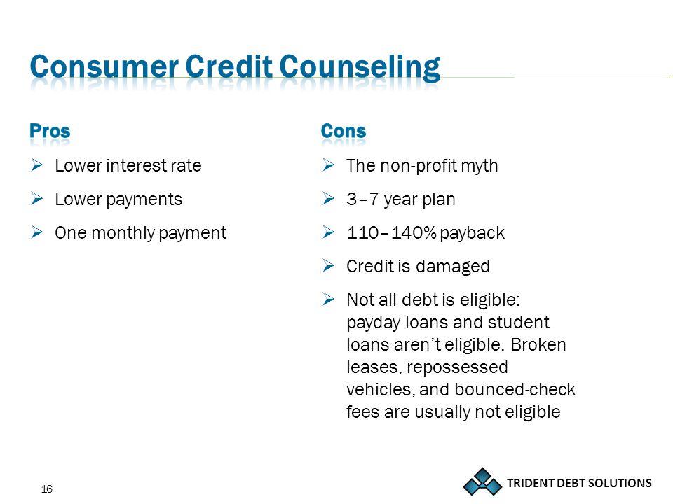TRIDENT DEBT SOLUTIONS 16