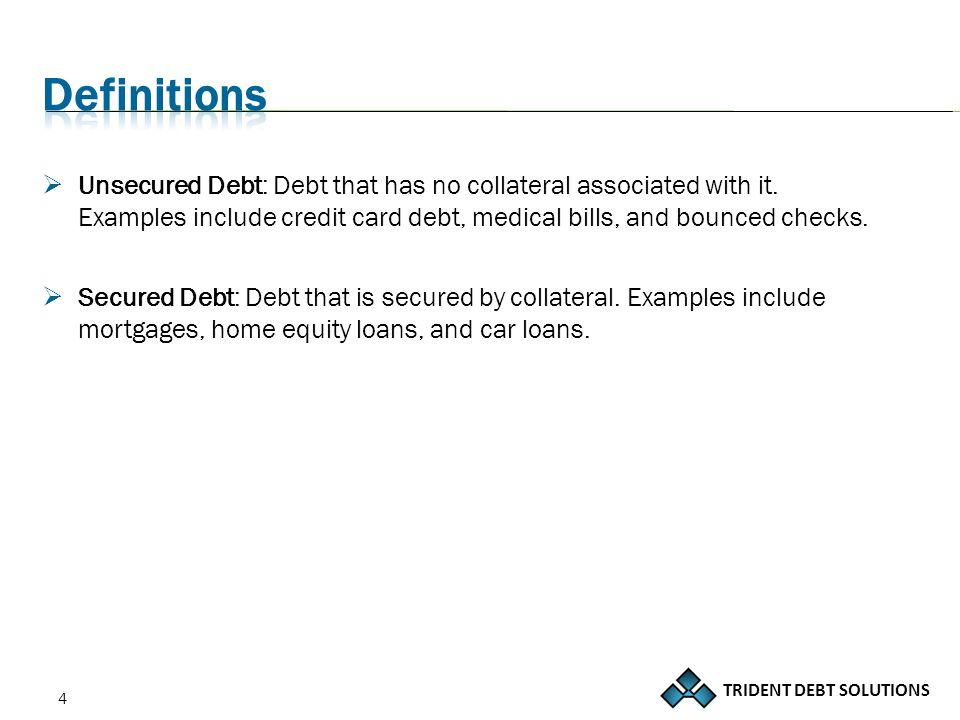 TRIDENT DEBT SOLUTIONS 25