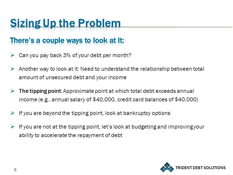 TRIDENT DEBT SOLUTIONS 37