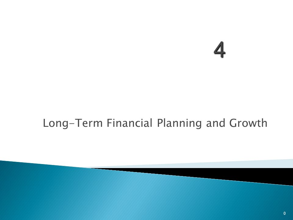 1.Understand the financial planning process and how decisions are interrelated 2.