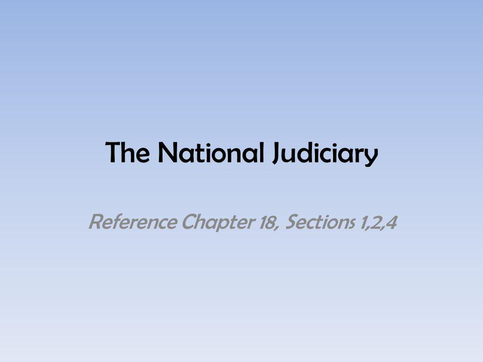 The Constitution establishes the Supreme Court