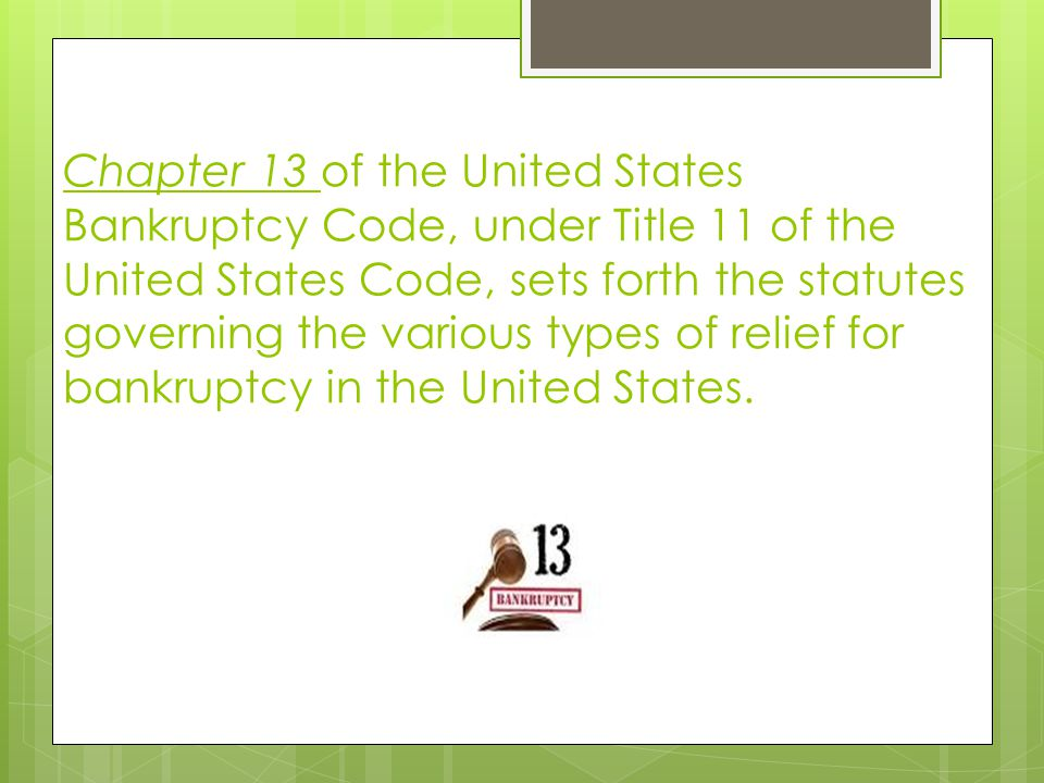 7 step bankruptcy process. 1.