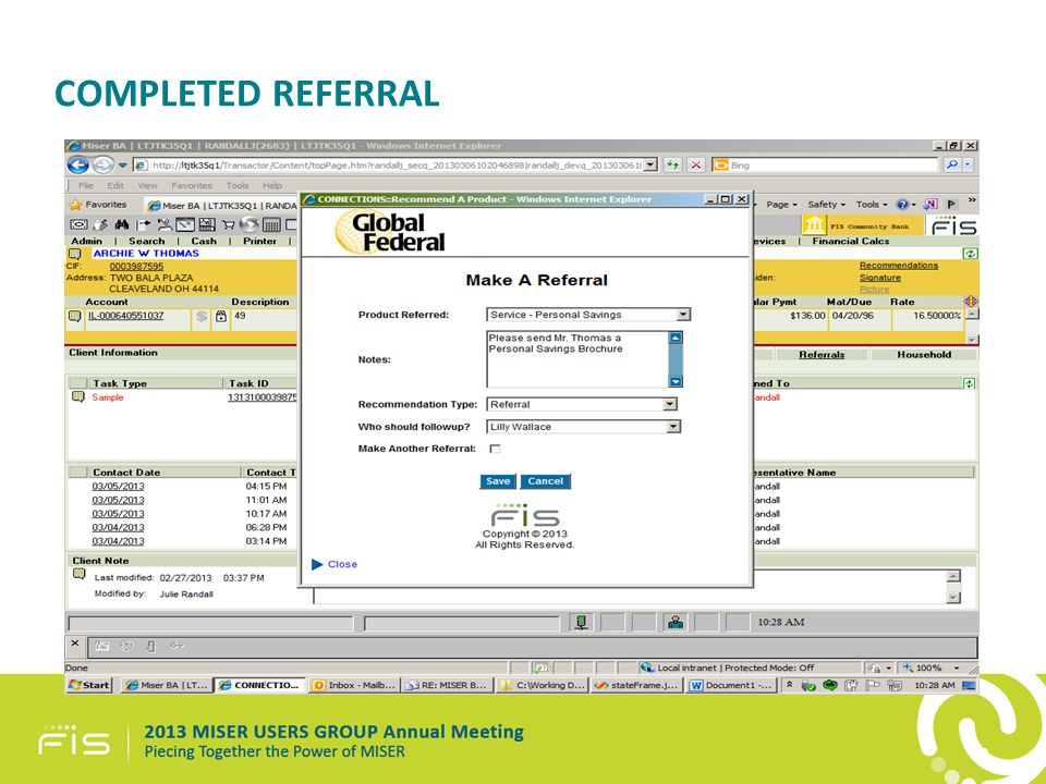 COMPLETED REFERRAL 40