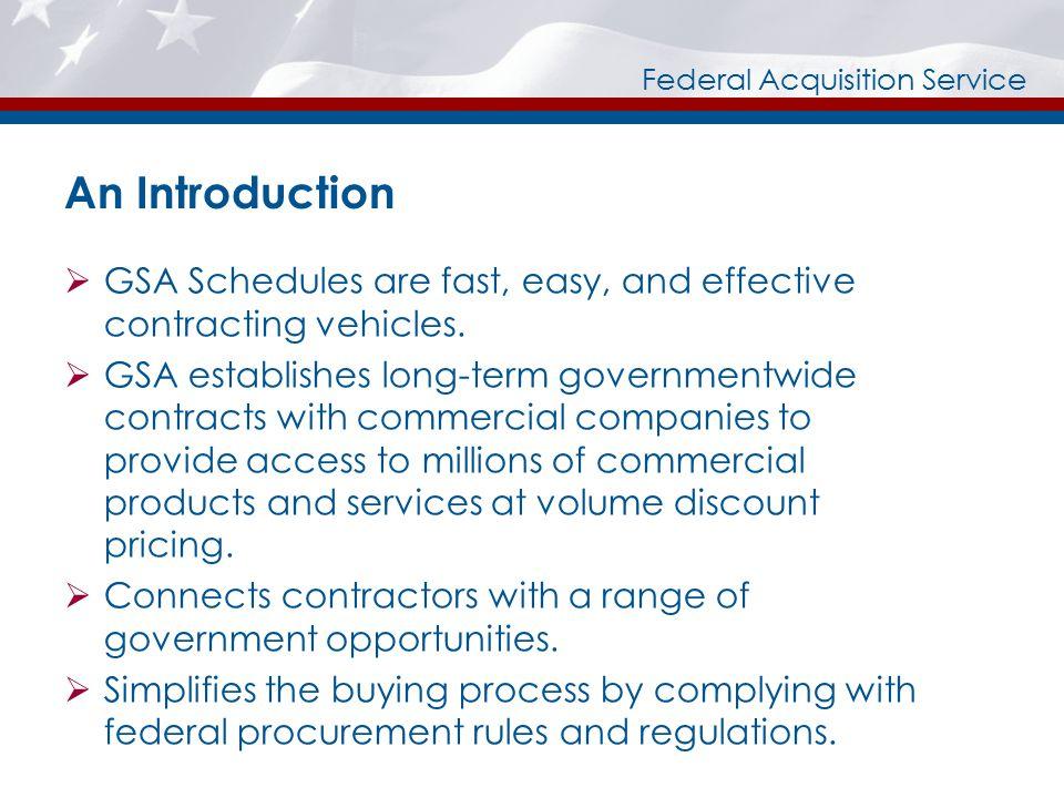 Federal Acquisition Service Pre-Award  Getting Started  Vendor Support Center  DUNS Number  System for Awards Management (SAM)