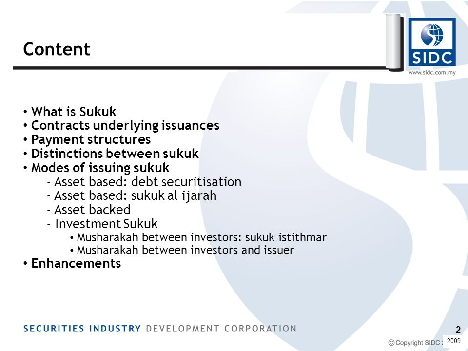 What is Sukuk.
