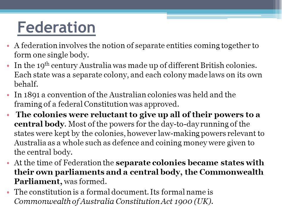 Role of the Constitution A constitution is a set of rules setting out the nature, functions and limits of government.
