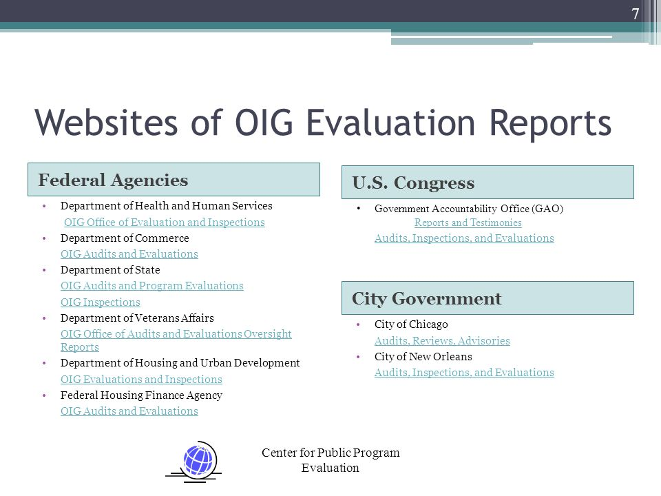 Center for Public Program Evaluation 38 The Fundamentals The Correct Methods to Use Are the Ones Most Compatible With the Purpose of the Study Always Use More Than One Method ▫At least one quantitative ▫At least one qualitative