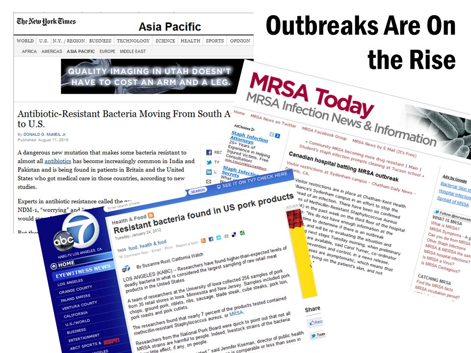 Outbreaks Are On the Rise