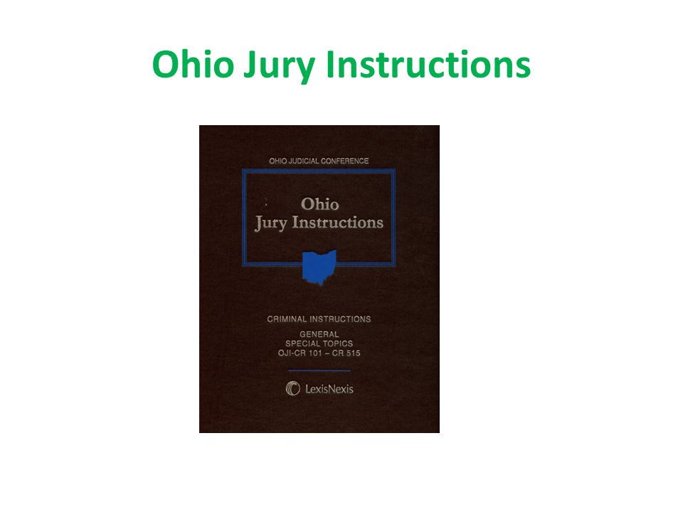 Ohio Jury Instructions