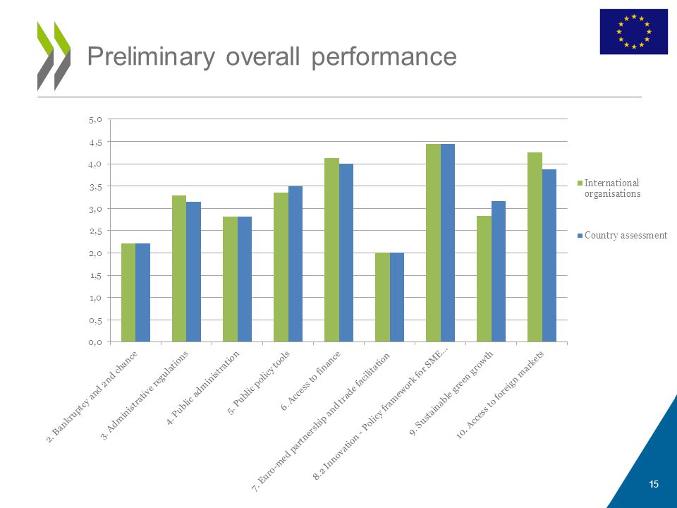 Preliminary overall performance 15