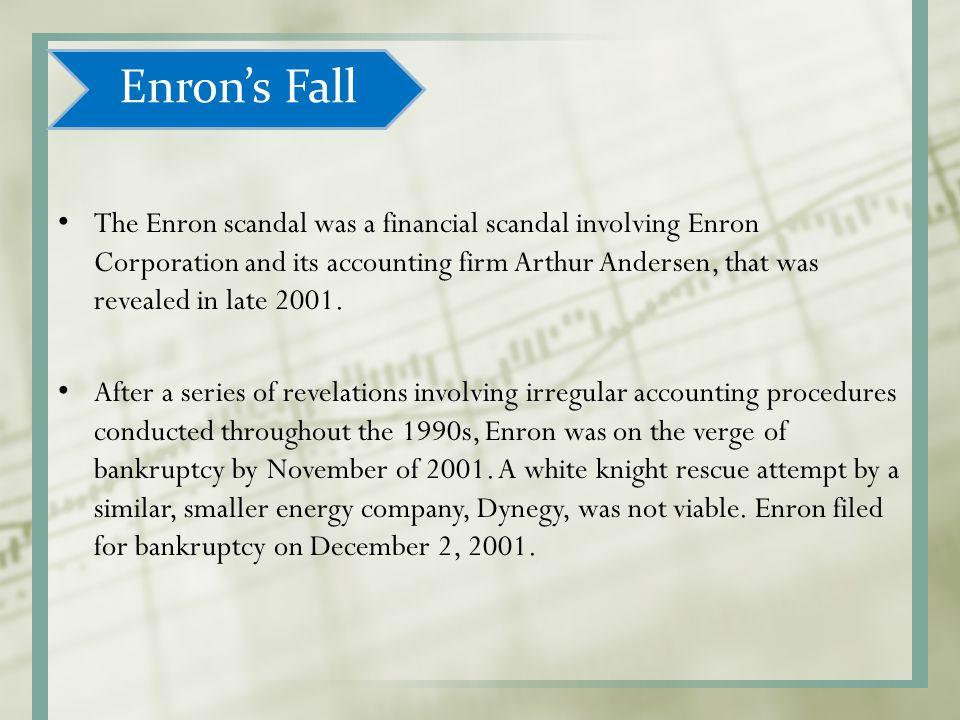 Enron Scandal?