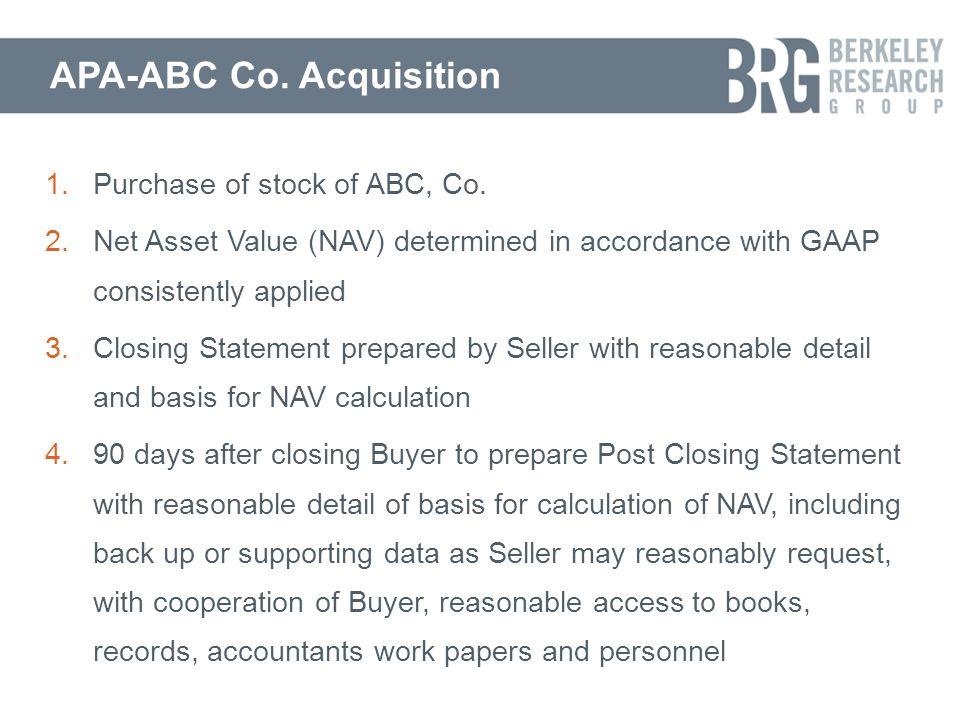 APA-ABC Co.
