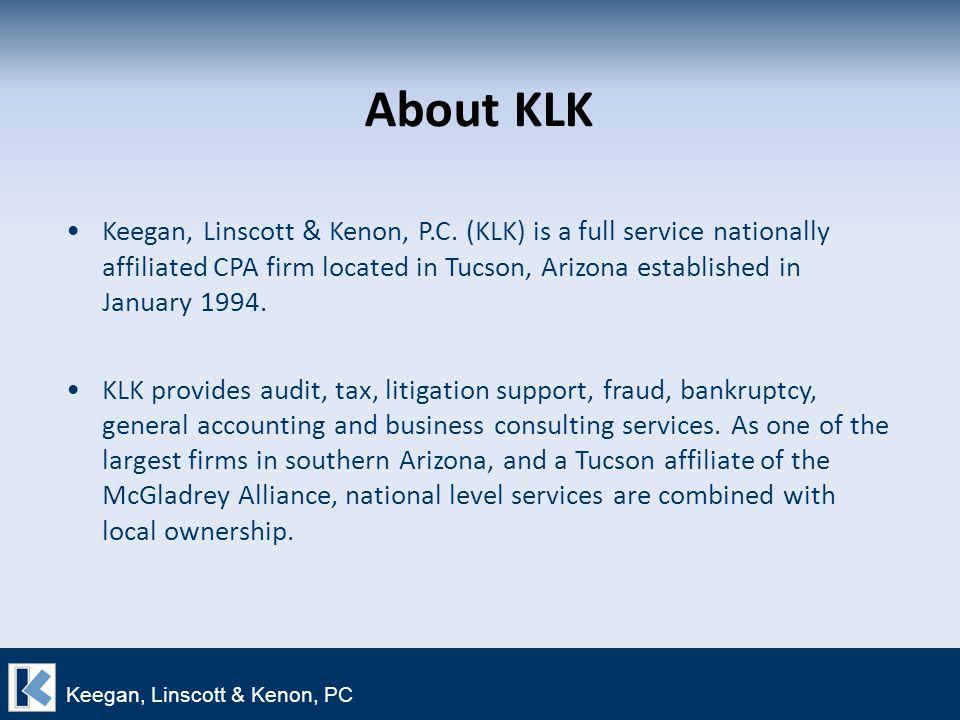 About KLK Keegan, Linscott & Kenon, P.C.
