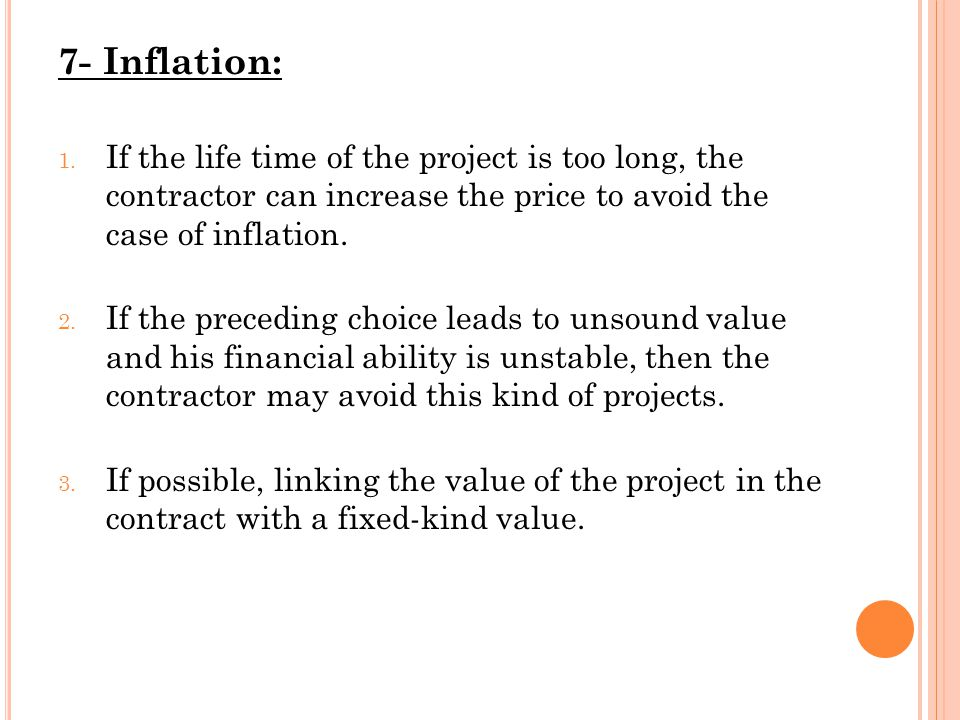 7- Inflation: 1.