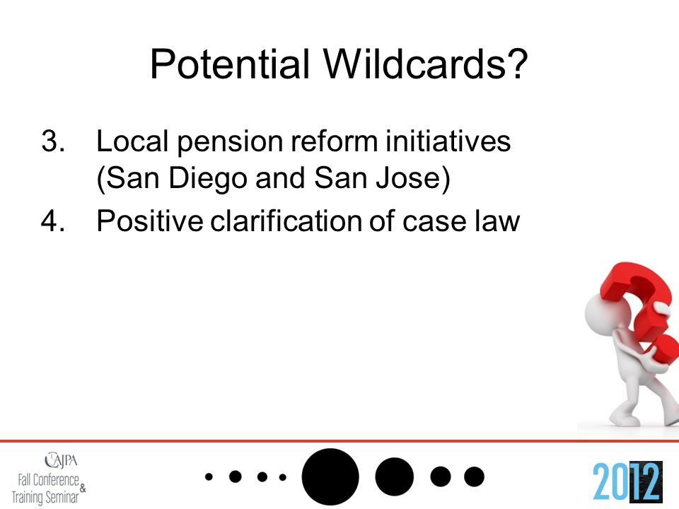 Potential Wildcards.