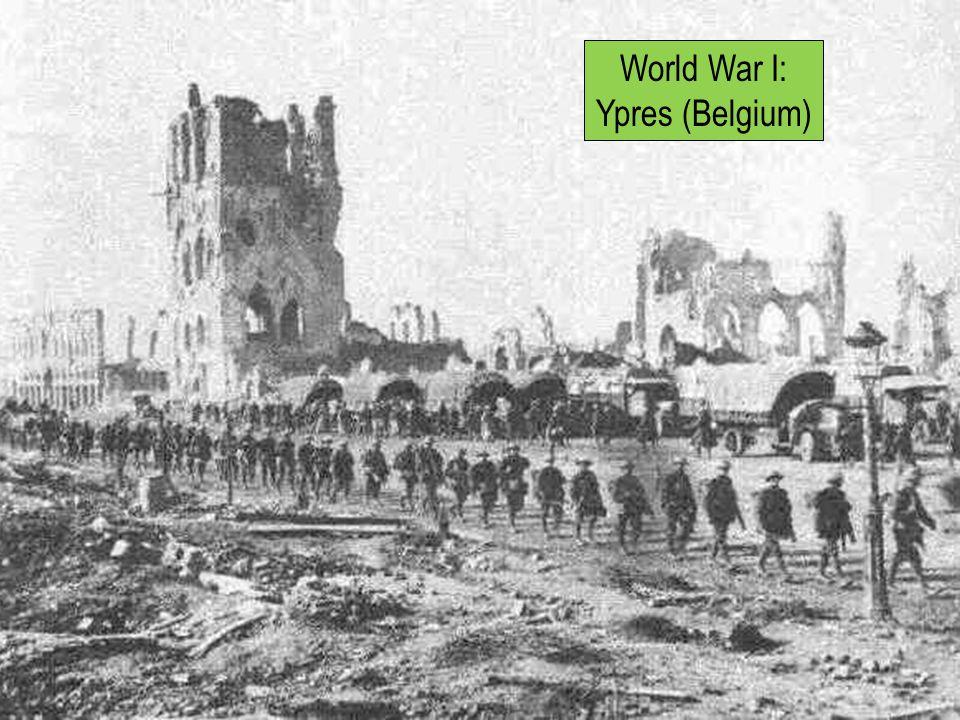 World War I: Ypres (Belgium)