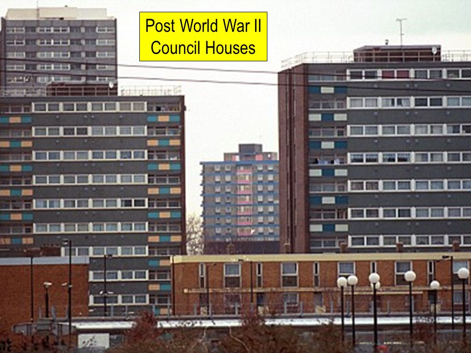 Post World War II Council Houses